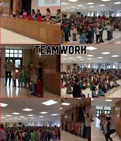 Lower Elementary School Teamwork Assembly