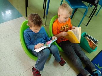 Kindergarten Pairs Up!