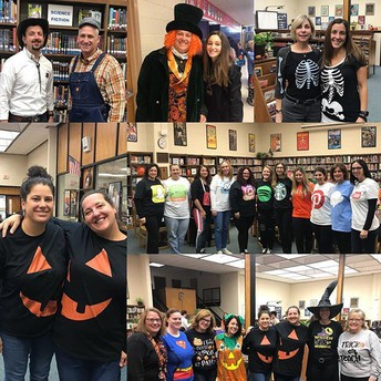 IMS Staff Gets Spooky