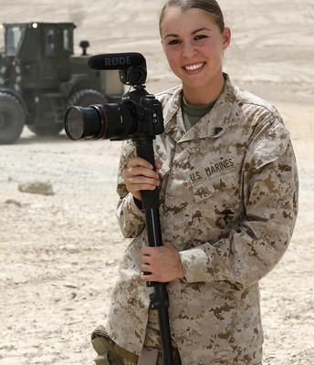 Graphic Designer/   Journalist for the Marines