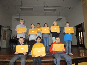4TH GRADE STUDENTS OF THE MONTH