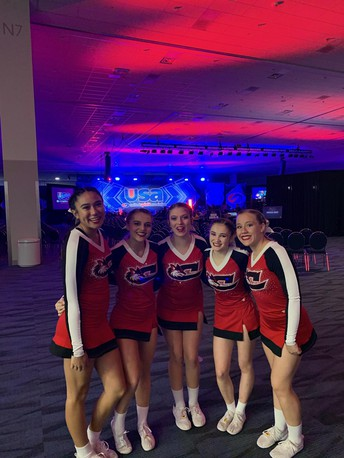 CHS CHEER Perform at Nationals
