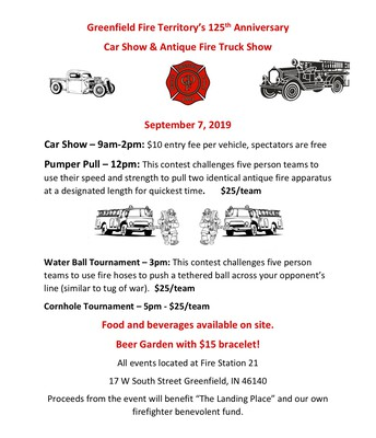 Car Show & Antique Fire Trucks