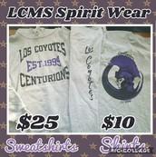 LCMS Spirit Wear