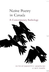 Native Poetry in Canada: A Contemporary Anthology