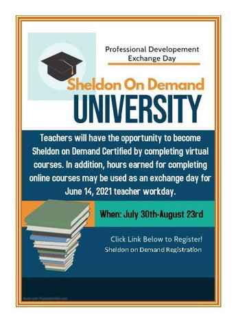 Sheldon On Demand University