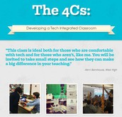 The 4Cs: Developing a Tech Integrated Classroom
