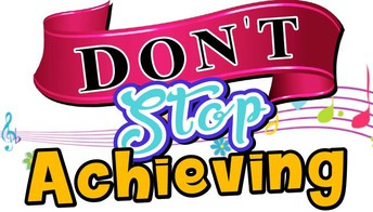 """Don't Stop Achieving"" Family Night - 9/24 @ 6 pm"