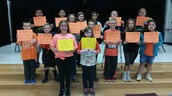 What a great group of spelling bee contestants!