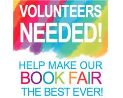 Book Fair Volunteers Needed for This Week!