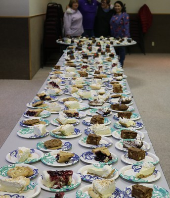 Women's Auxilary Provided the Desserts!