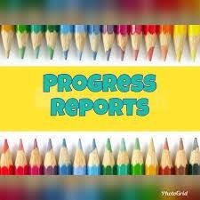 Progress Reports -- Coming Soon!