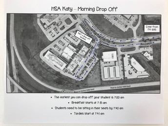 Morning Drop Off Route