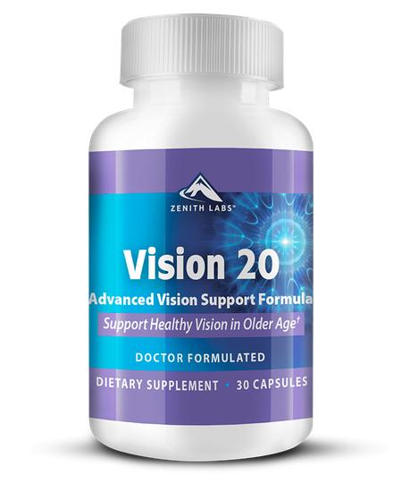 Zenith Labs Vision 20 Supplement