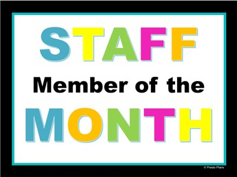 Congratulations to Nurse Christina for being elected September Staff Member of the Month!
