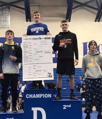 Congratulations to Thomas Ronders who competed at the MHSAA Regional Competition!
