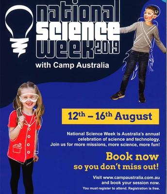 Camp Australia Science week