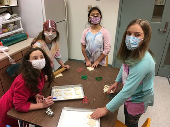 Making Salt-Dough Ornaments