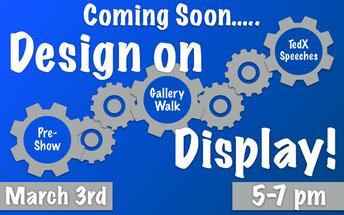 Design on Display Night, 3/3, 5:00-7:00
