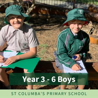 Years 3 to 6 Boys - Formal Uniform