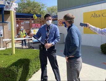 Superintendent Beutner Visits Alta California