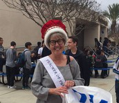 Jan Mintz - Beckman's 2017 Teacher of the Year