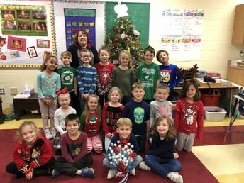 Mrs. Cunningham's Class December Champs