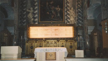 Learn about and view the Shroud of Turin