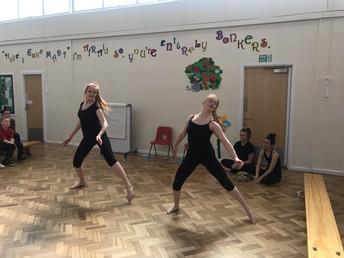 Wath Comprehensive School Dancers
