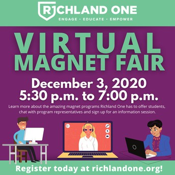 Richland One to Hold Virtual Magnet Fair December 3rd