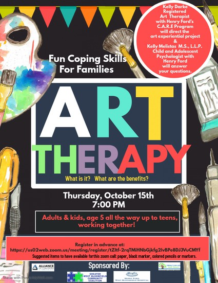 Art Therapy Registration!