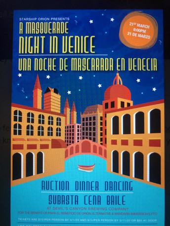 School wide Auction March 21 for Both Mandarin Immersion and Orion Alternative Communities