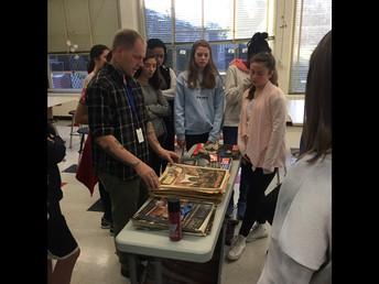 8th Grade Art News