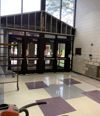 Plum Grove secure vestibule construction