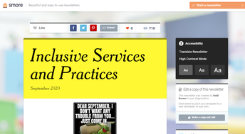 Inclusive Services and Practices