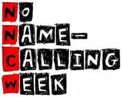 Reflecting No Name Calling Week