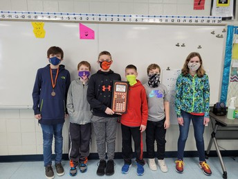 6th grade team-1st place