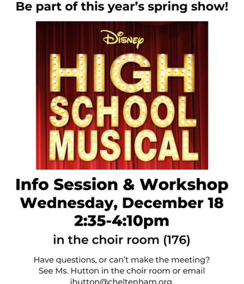 Info Session for High School Musical