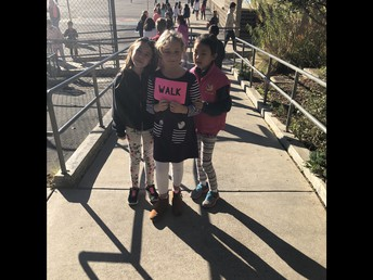 2nd Graders Remind Us to Be Safe: School Community