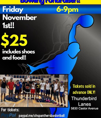 Bowling Fundraiser for Boys Basketball