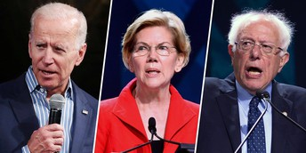 The Leaders of the Pack in the Democratic Primary