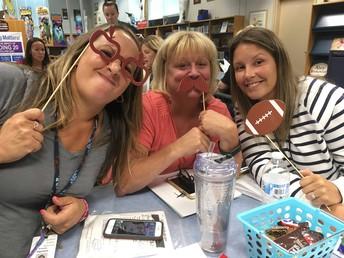 Who said teachers can't have fun?
