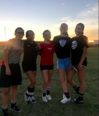 9th Graders Seek to Make Big Impact on W Soccer Team