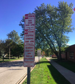 Message From Officer Veenstra - Parking Regulations Along Olive Street