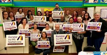 Arleta PTA Endorses PPS Teacher's Levy