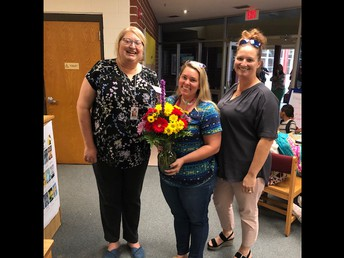Mrs. Striebel- Teacher of the Year!