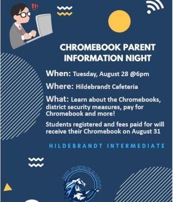 Chromebook Parent  Information Night