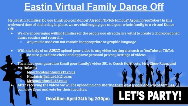 Eastin Virtual Dance Off