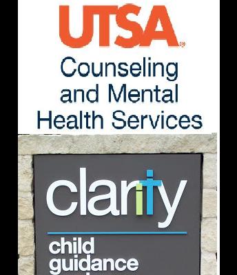 UTSA Counseling Center  &  Clarity Child Guidance Center