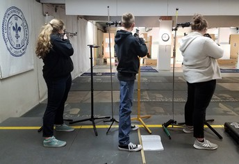 JROTC Rifle, Drill Teams Place First in Competitions